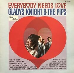 Vinyl Lp - Motown - Gladys Knight And The Pips - Everybody Needs Love - 1967 Mono