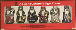 Old World Christmas Light Covers / Replicas Of Old Fashioned Christmas Lights