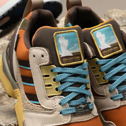 Adidas National Park Foundation X Adidas Zx 8000 Yellowstone Mens Shoes