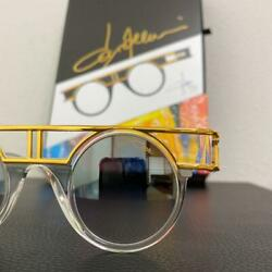 Cazal Legend 002 C002 Clear/gold Frame 499 Limited Made In Germany Unused 419/mn