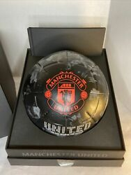 Manchester United Adidas Promo Soccer Ball With Box And Book