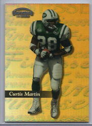 1999 Playoff Contenders Ssd Finesse Gold /25 Curtis Martin 100 Hof 🔥 🔥 Jets
