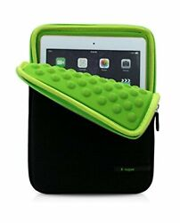 Ipad Air Air2 Inner Case Cover Neoprene Slip-in Sleeve 9.7 Inches Green F/s New