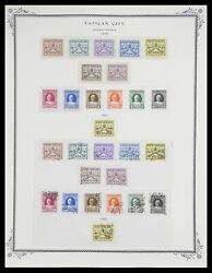 Lot 33676 Stamp Collection Vatican 1929-1986.