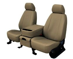Honda Accord 2013-2017 Beige Faux Leather Custom Fit Rear Seat Covers