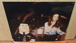 Julie Hagerty Signed Airplane 8x10 Photo Elaine Dickinson