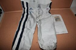 Troy Aikman Signed Auto Autographed Cowboys Pants Game Issued Jsa