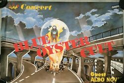 Blue Oyster Cult - French Promo Poster - 80x120cm - Rare Poster Rolled