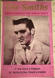 The Smiths - Shoplifter - 100x140cm - Rare Poster Rolled