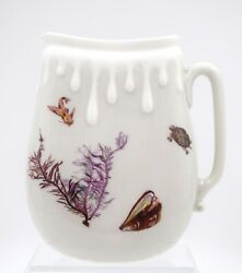 Haviland Limoges Aesthetic Pitcher Hand Painted With Different Undersea Creature