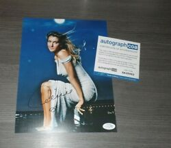 Celine Dion My Heart Will Go On, Original Signed Photo 7 7/8x9 13/16in +coa