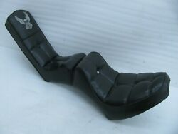 Original Harley Davidson King Queen Seat 52119-84 Softail Chopper 1984 And Up
