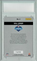 Will Grier 2019 Panini Instant Combine 5 The 1 Of 10 1st Rookie Card Pgi 10