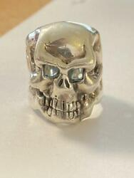 Initial Limited To 100 Travis Workers Og Skull Ring