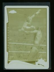 Cm Punk 1/1 2014 Wwe Chrome Yellow Print Plate - 12 Best In The World
