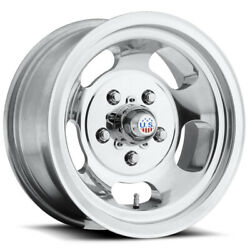Staggered Us Mags U101 Indy 15x715x8 5x114.3/5x4.5 -5mm Polished Wheels Rims