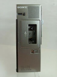 Sony Bm-510 Microcassette Recorder Dictaphone Japan Made For Restoration