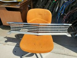 1965 65 Buick Gs Skylark Sport Wagon Special Chrome Front Grille Gm Oem 1367938