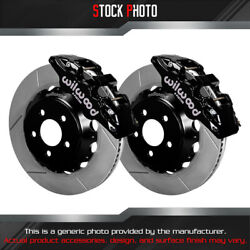 Wilwood Street Performance Gt Slotted Rotor Aero6 Caliper F Brake For 15 Mustang