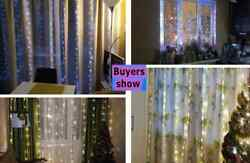 3m Led Curtain Garland On The Window Usb String Lights Fairy Festoon With Remote