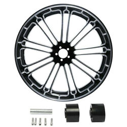 18/21/23/26/30'' Front Wheel Rim And Hub Fit For Harley Touring 2008-2021 2009 10