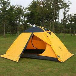 Super Light Tent Professional Waterproof Double Layer Fire Retardant 20d Silicon