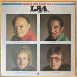 La 4 Just Friends Japan Lp L.a.four Laurindo Almeida Direct To Disc Iclf-98008