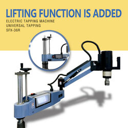 Us Stock M6-m36 Electric Tapping Machine Universal Lifting Function Intelligent