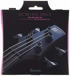 Ibanez 4-string Electric Bass-wound Coated String Light Top And Medium Bottom F/s