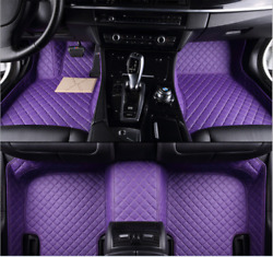 Luxury Waterproof Front And Rear Liner Custom Car Floor Mats For Nissan 2003-2022