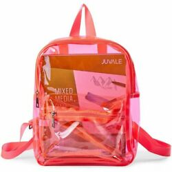 Mini Clear Backpack for Sporting Events Beach School 4 x 11.9 x 9.1quot; $14.99