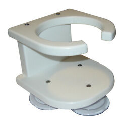 Taco 1-drink Poly Cup Holder - White P01-2003w