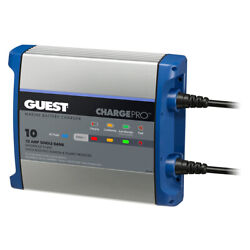 Guest On-board Battery Charger 10a / 12v - 1 Bank - 120v Input 2710a