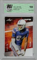Kyle Pitts 2021 Leaf Hype 57 Only 5000 Made Rookie Card Pgi 10
