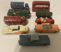 Lot Of 91960s-70s Lesney Toy Cars/ Trucks/ Buses Etc. Made In England Vintage