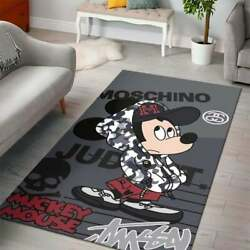 Mickey Mouse Movies Disney Carpet Area Housewarming Gift And Office Decor