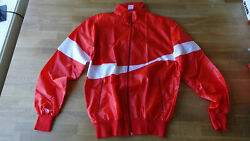Coca Cola Jacket Vintage 80s Polyester Made In Italy Size M2 New Old Stock