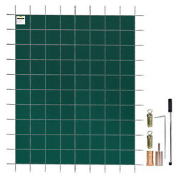 Vevor Swimming Pool Safety Cover Inground 18x42ft, Rectangle Safety Pool Cover