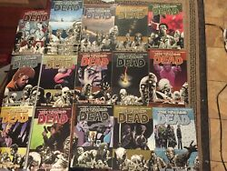 The Walking Dead- Volumes 1-21, 25, 26- Lot X26 Graphic Novel