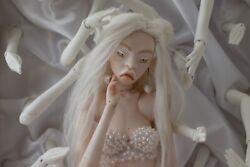 Porcelain Ball-jointed Doll Bjd 1h By Bears And The Human Bones