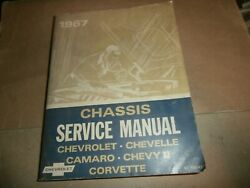 1967 Chevy Chassis Service Manual Chevelle Corvette Camaro Chevy Ii