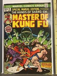 Special Marvel Edition 15 - 1st Shang-chi The Master Of Kung-fu