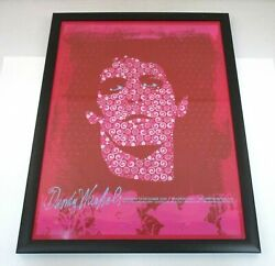 Dandy Warhols Lou Reed Silkscreen Concert Poster 2008 Signed And Numbered 100/200