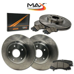 2005 Chevy Blazer S10 See Desc. Oe Replacement Rotors W/ceramic Pads F+r