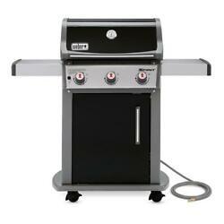 Weber Spirit E310 Natural Gas Bbq Grill Black 3 Burner W Built In Thermometer