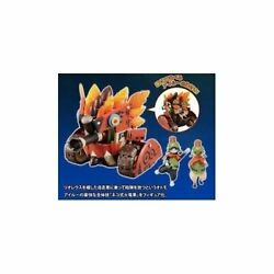 The Most Lottery Monster Hunter 4 B Prize Cat-type Fire Dragon Car Figures F/s