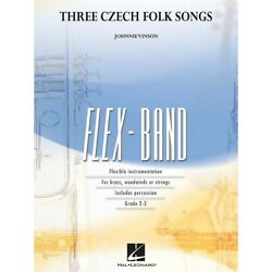 Three Czech Folk Songs Concert Band Level 2-3 Composed By Johnnie Vinson