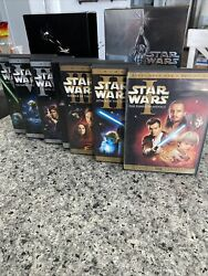 Star Wars Dvd Complete Saga Own All 6 Widescreen Movies On 9 Discs