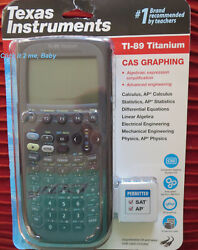 New Latest Texas Instruments Ti-89 Titanium Graphing Calculator Free Shipping