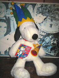 1 Rare Htf Collectable Snoopy Plush Figure 26 Inch Tall Macyand039s Limited Edition